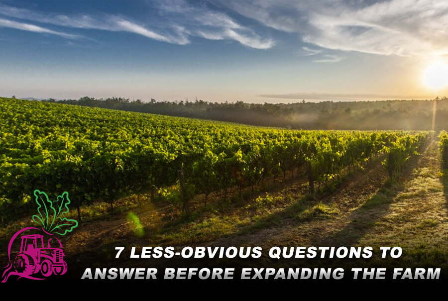 7 Less-Obvious Questions to Answer Before Expanding the Farm